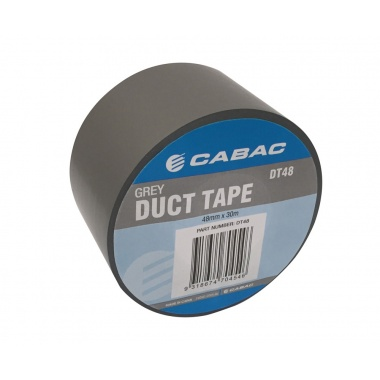 Cabac Duct Tape Grey 30M Roll 48mm Wide DT48
