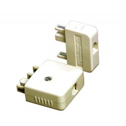 Telephone Adaptor Plug 605 406605P